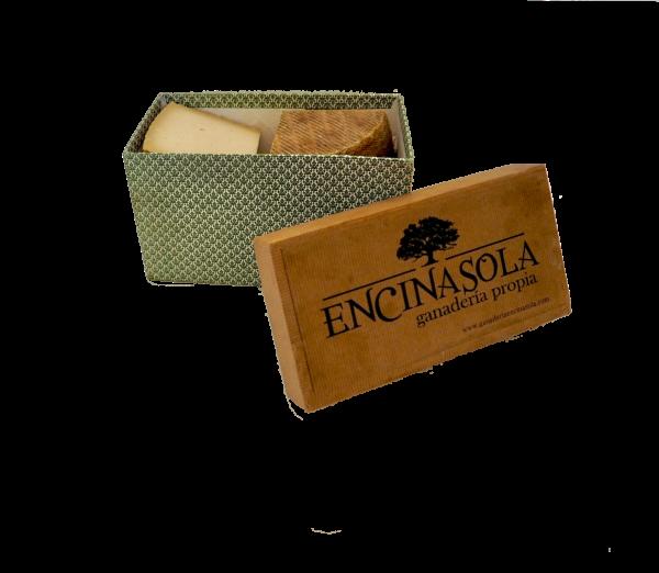 caja tamaño medio quesos encinasola